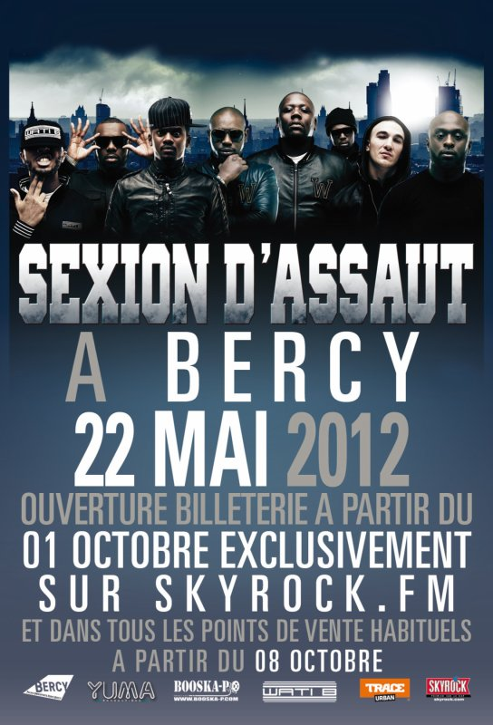 CONCERT A BERCY LE 22 MAI